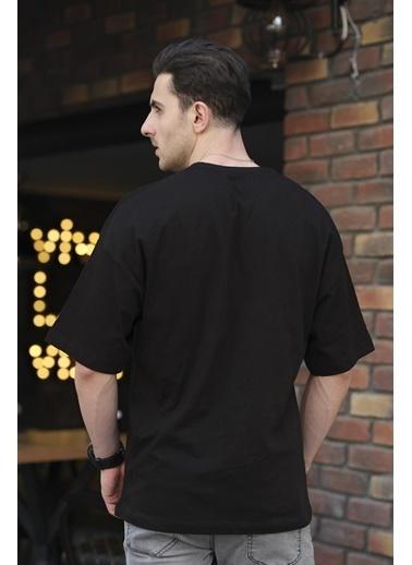 Oksit Tişört Siyah